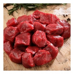 Boneless buffalo meat cuts